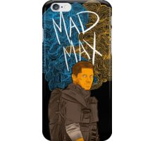 """Tom Hardy """"Mad Max"""" (Transparent) iPhone Case/Skin"""