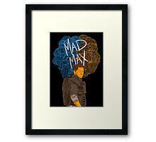 "Tom Hardy ""Mad Max"" (Transparent) Framed Print"