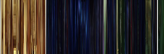 Moviebarcode: The Animatrix 1 Final Flight of the Osiris (2003) by moviebarcode