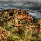Old Troop Carrier by Fraser Ross