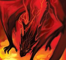 Smaug the Terrible by MelColley