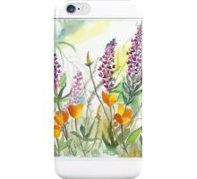 Purple Lupine iPhone Case/Skin