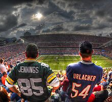 Bears vs. Packers HDR by Matt Erickson
