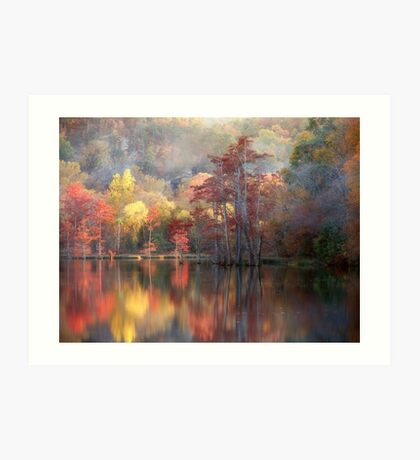 Spicy Fall Color Art Print