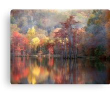 Spicy Fall Color Canvas Print
