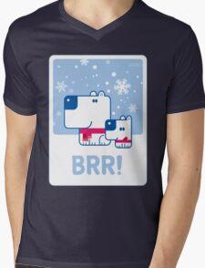 BRR! Mens V-Neck T-Shirt