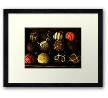Ultimate Dessert Truffles Framed Print