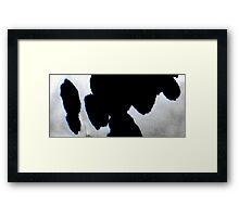 Patch Work Framed Print