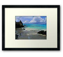 Trunk Bay - St. John Framed Print