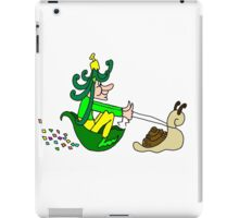 Racing Snail Faerie iPad Case/Skin