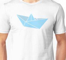 Origami Boat Illustration Unisex T-Shirt