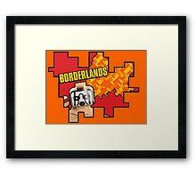 Lego Borderlands  Framed Print
