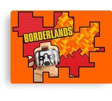 Lego Borderlands  Canvas Print