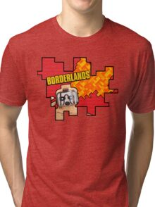 Lego Borderlands  Tri-blend T-Shirt