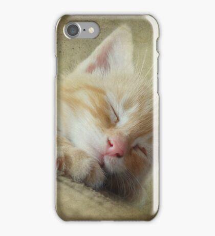 Soft Kitty, Warm Kitty, Little Ball of Fur iPhone Case/Skin