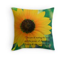 Restful Mind  Throw Pillow
