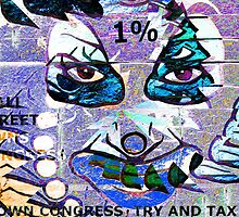 1% Owns Congress Blue & Green by Stephen Peace
