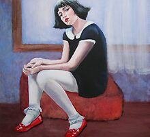 Dorothy's Red Shoes 2 by Magda Vacariu