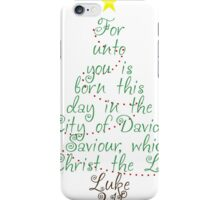 Christ the Lord iPhone Case/Skin