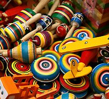 Mexican Wooden Toys by Richard G Witham