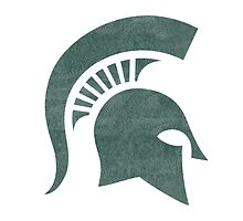 Michigan State University Logo by indianastickies