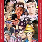 Grant Gustin Collage by seblaine