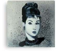 """Audrey hepburn"" Canvas Print"