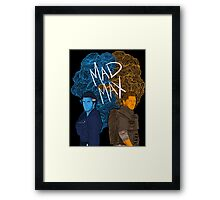 """New and classic """"Mad Max"""" (Transparent) Framed Print"""