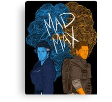 "New and classic ""Mad Max"" (Transparent) Canvas Print"