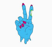 Acid Zombie Peace Hand Unisex T-Shirt
