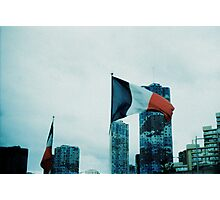 France over blocks Photographic Print