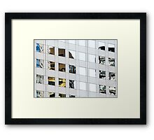 Denver reflection 4 Framed Print