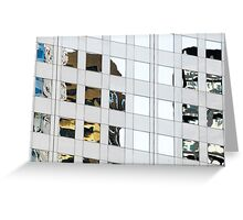 Denver reflection 4 Greeting Card