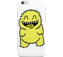 Happy Yellow Beast iPhone Case/Skin