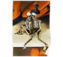 Bare bones affection Poster