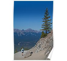 Canada. Banff National Park. Sulphur Mountain. Loneliness of Two. Poster
