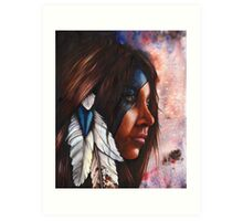 Silent Grace Art Print