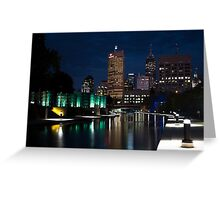 Indy Skyline Greeting Card