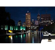 Indy Skyline Photographic Print