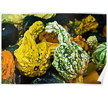 Kissing gourds Poster