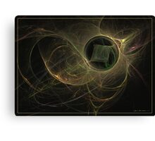 The missing cube Canvas Print