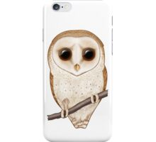 Big-Eyed Barn Owl iPhone Case/Skin