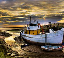 South Ferriby Boat by martinhenry