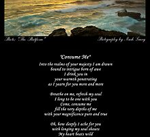 ~ Consume Me ~ A collaboration with Mark Lucey ~ by Donna Keevers Driver