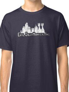 Evil Sock Monkeys Crew Classic T-Shirt
