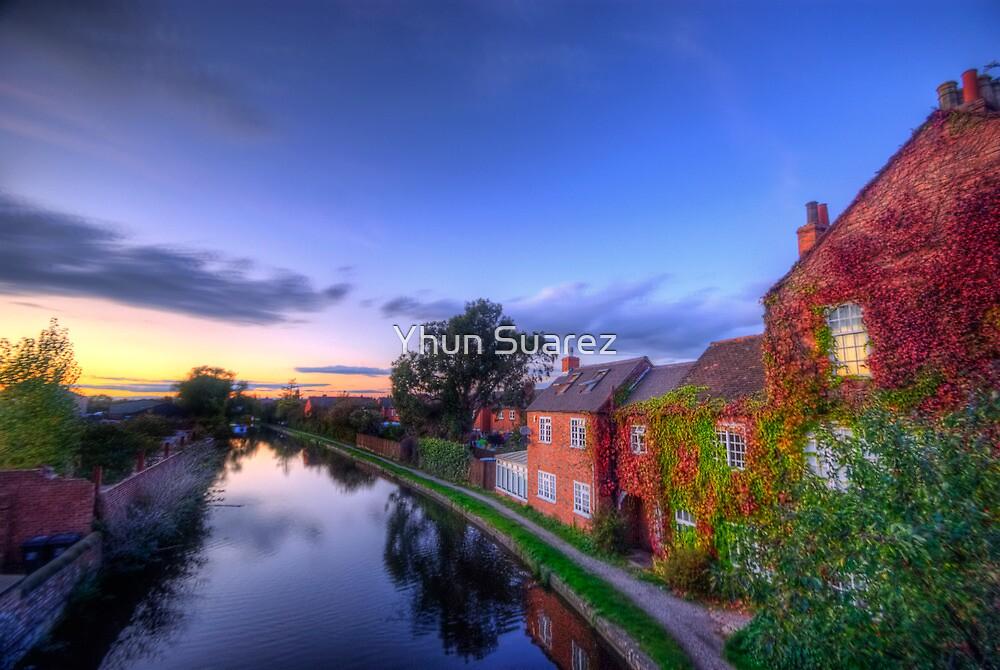 Loughborough Canal Sunset  by Yhun Suarez