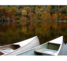 Canoes At Beavers Bend Photographic Print