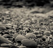Beach Pebbles by Phillip Burgess