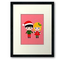 Xmas Kids Framed Print