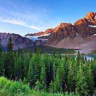 Crowfoot Glacier by Rick Louie